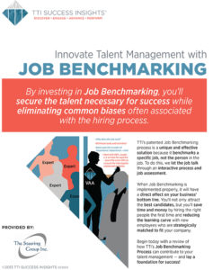 Job Benchmarking - Innovate Talent Management