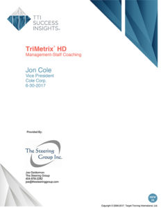 TriMetrix HD - Management-staff coaching