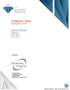 TriMetrix DNA - Management-staff