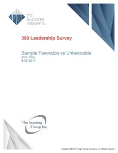 OD 360 Degree Report